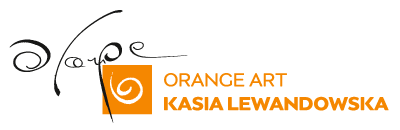 Orange Art - Kasia Lewandowska