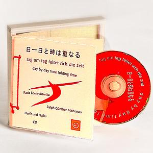 tag um tag faltet sich die zeit - Sonderedition Holzkassette